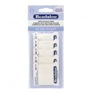 Beadalon Silk Wire 5-pack blanc