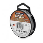 Beadalon Wildfire Wire 0.20mm gris