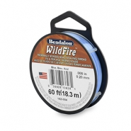 Beadalon Wildfire Wire 0.20mm bleu