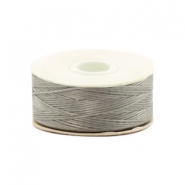 Beadalon Nymo Wire 0.3mm gris