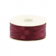 Beadalon Nymo Wire 0.3mm rouge bourgogne