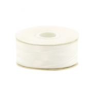 Beadalon Nymo Wire 0.3mm blanc