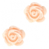 Perles roses 6mm blanc-fresh peach