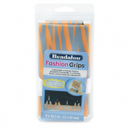 Beadalon fashion tool pouch tiger Orange-Gris