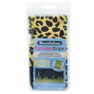 Beadalon fashion tool pouch cheetah Jaune-Noir