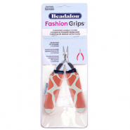 Beadalon fashion grips tool covers giraffe Orange-Blanc