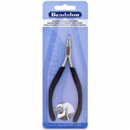 Beadalon slim line bent chain nose pliers Noir