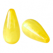 Perles Polaris Elements en forme de goutte pearl shine Jaune empire