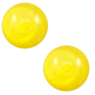 Cabochon classique 20mm Polaris Elements pearl shine Jaune empire
