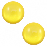 Cabochon classique 7mm Polaris Elements soft tone shiny Jaune empire