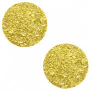 Cabochon plat 20mm Polaris Elements Goldstein Jaune empire