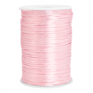 Cordon satin 2.5mm Rose clair