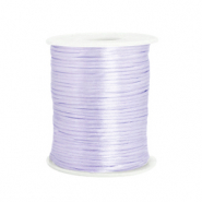 Cordon satin 1.5mm Violet lavande doux