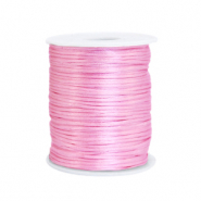 Cordon satin 1.5mm Rose clair