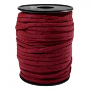 Paracord rond 4mm rouge aubergine