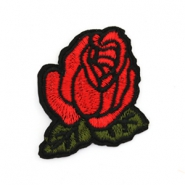 Patches rose rouge-vert